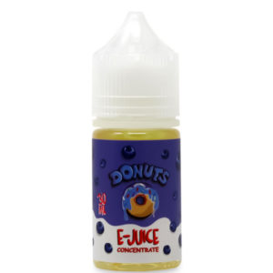 Μυρτιλός Donuts 30ml Eliquid Flavor Concentrate Bottle By Marina Vape