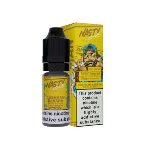 Cushman Banana Nicotine Salt E-liquid By Nasty Salt