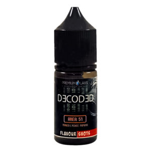 Decoded Areal 51 30 ml Eliquid smagskoncentratflaske