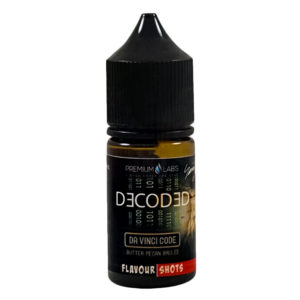 Decoded Da Vinci Code 30ml Eliquid Flavor Concentrate Bottle