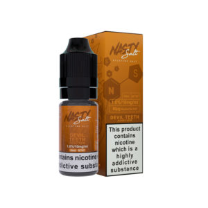 Devill Teeth Nicotine Salt Eliquid By Nasty Salt Nasty Juice