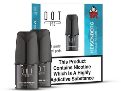 Dot Pro Heisenberg Nicotine Salt Prefilled Replacement Pods