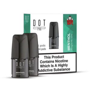 Dot Pro Menthol Nicotinezout Voorgevulde vervangende capsules