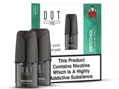 Dot Pro Menthol Nicotine Salt Prefilled Replacement Pods