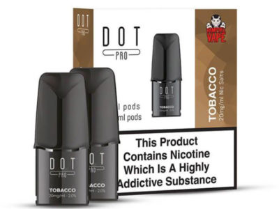 Dot Pro Tobacco Nicotine Salt Prefilled Replacement Pods