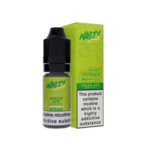 Green Ape Nicotine Salt Eliquid By Nasty Salt Nasty Juice