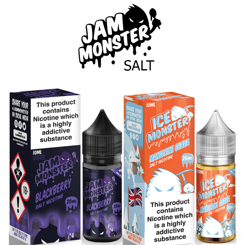 Jam Monster Nic Salt E-Liquids