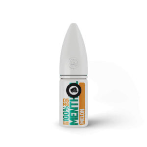 Melon 10 ml Nicotine Salt Eliquid Bottle By Riot Squad 100 mentol