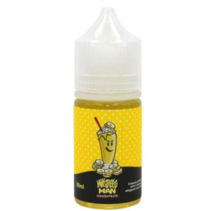 Milkshake Man Banana 30 ml Eliquid Flavor Concentrate Bottle By Marina Vape
