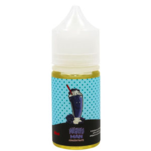 Milkshake Man Blueberry 30ml Eliquid Flavor Concentrate Bottle By Marina Vape