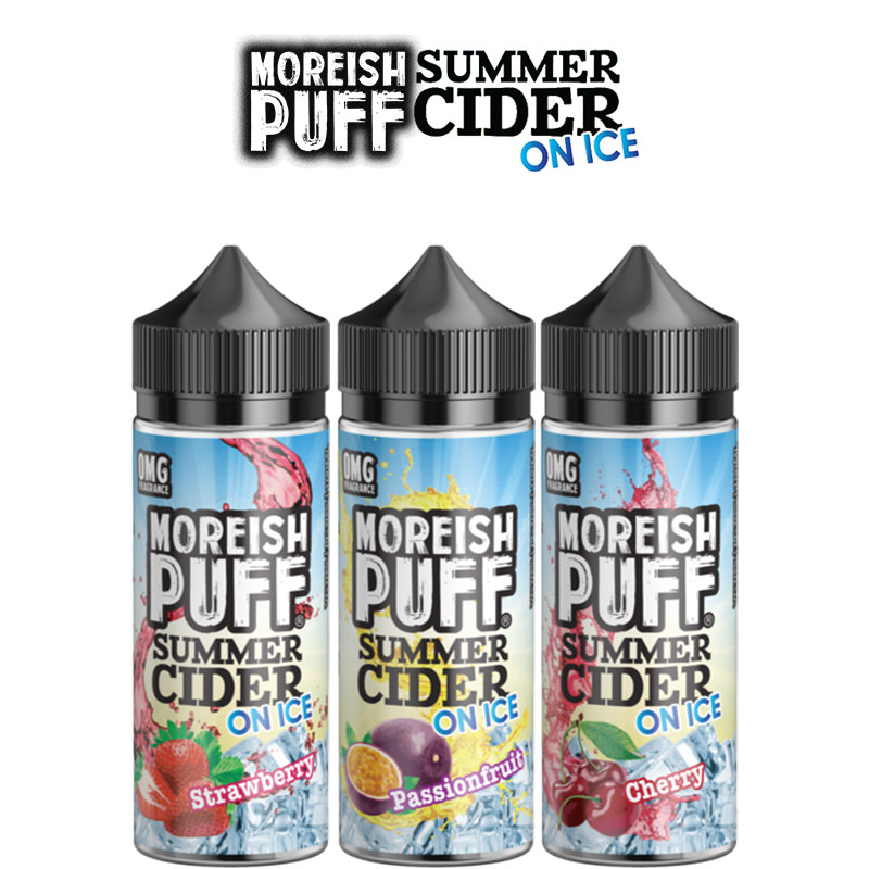 Moreish Pust sommercider på is Shortfills