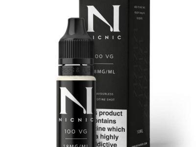 Nic Nic Max Vg Nicotina Booster Shot