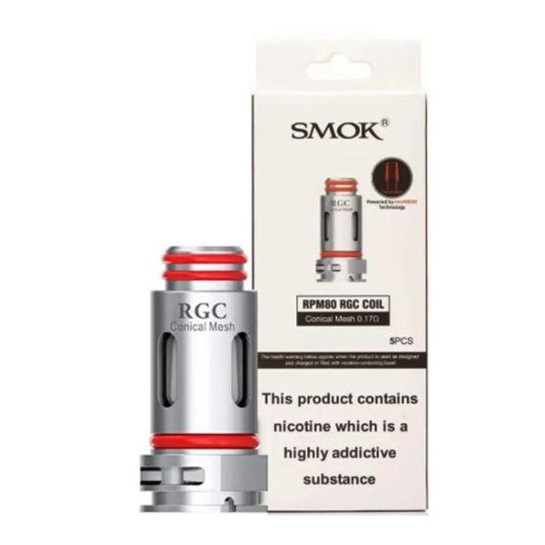 Smoc Rpm80 Rgc Replacement Vape Coils