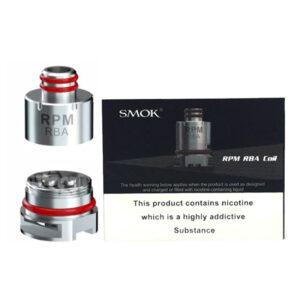 Smok Rpm40 Rba Vape ersättningsspole med låda