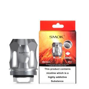 Smok Tfv Mini V2 Skiptir spólar með kassa