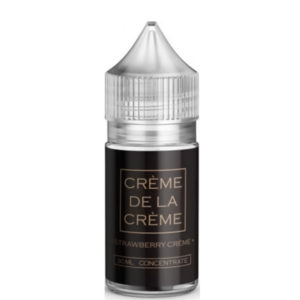 Strawberry Creme 30 ml Eliquid smagskoncentratflaske af Marina Vape