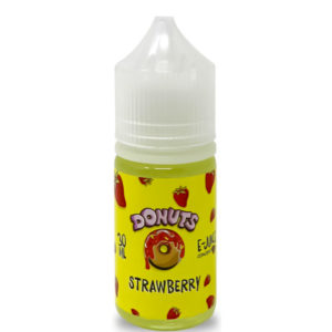 φράουλα Donuts 30ml Eliquid Flavor Concentrate Bottle By Marina Vape
