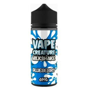 Blueberry Milkshake 100ml Eliquid Shortfills By Vape Creature milkshake