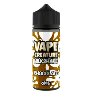 Chocolate Milkshake 100ml Eliquid Shortfills By Vape Creature Milkshake