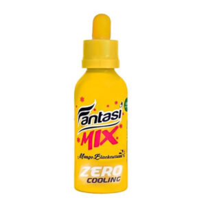 Mango & Blackcurrant Zero Cooling E-liquid Shortfill By Fantasi Mix