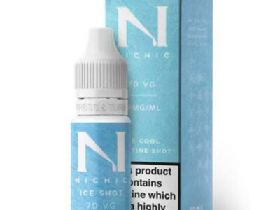 Nic Nic Ice Shot 70vg Nicotine Booster Shot