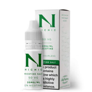 Nic Nic Nicotine Salt Booster Shot