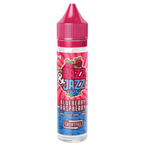 Razz Jazz Blueberry Framboise 50ml Eliquid Shortfill Bottle By 12 Monkeys