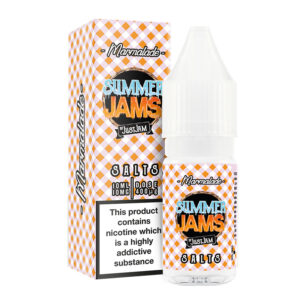 Summer Jams Marmalade Nicotine Salt Eliquid Bottle With Box By Just Jam