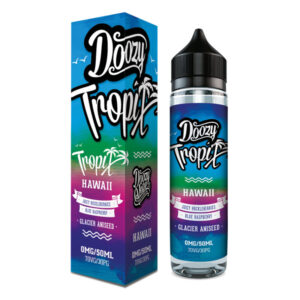 Doozy Tropix Hawaii 50ml Eliquid Shortfill Flaska með kassa eftir Doozy Vape Co