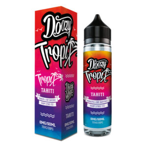 Doozy Tropix Tahiti 50ml Eliquid Shortfill Flaska Med Låda Av Doozy Vape Co