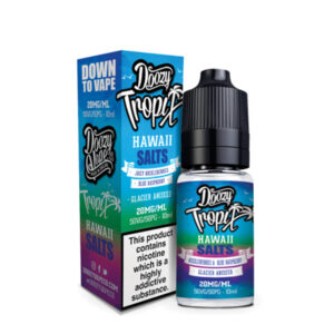 Doozy Tropix Hawaii Nicotine Salt Eliquid Μπουκάλι με κουτί από Doozy Vape Co