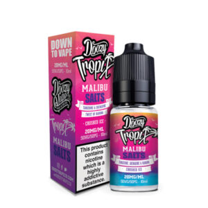 Doozy Tropix Malibu Nicotine Salt Eliquid Bottle With Box By Doozy Vape Co