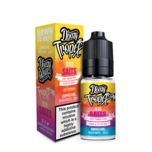 Doozy Tropix Rio Nicotine Salt Eliquid Bottle With Box By Doozy Vape Co