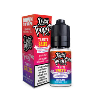 Doozy Tropix Tahiti Nicotine Salt Eliquid Bottle With Box By Doozy Vape Co