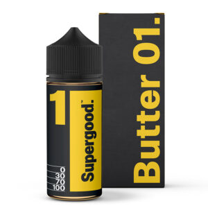 Smjör 01 Supergood 100ml Eliquid Shortfill Flaska með kassa