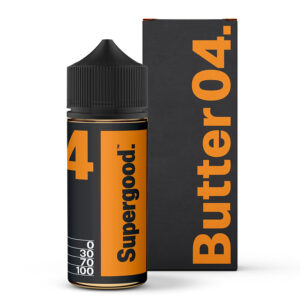 Manteiga 04 Supergood 100ml Eliquid Shortfill Frasco Com Caixa