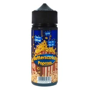 Butterscotch Popcorn 100 ml tekočina Shortfill Steklenička gaziranega Juice Mohawk Co