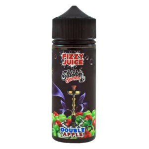 Lýsandi Juice Shisha Series tvöfalt epli 100ml Eliquid Shortfill flaska eftir Mohawk Co.
