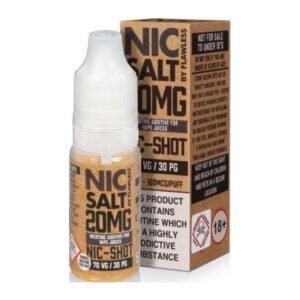 Flawless 70/30 Nic Salt Shot