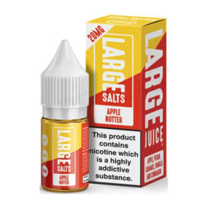 Large Salts Apple Nutter 10ml Nicotine Salt Eliquid Bottle With Box