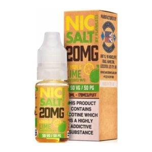 Лимонова лаймова никелова сол от безупречна бутилка 10 ml никотинова сол с течност с кутия