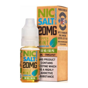 Peppermint Nic Salt By Flawless 10ml Nicotine Salt Eliquid Bottle With Box