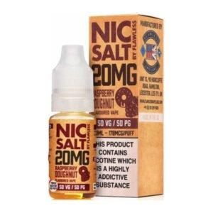 Raspberry Donut Nic Salt от безупречна бутилка от 10 ml никотинова сол с кутия