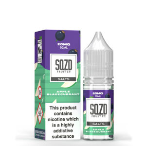 Sqzd Apple Blackcurrant Nicotine Salt Eliquid Door Sqzd Fruit Co.