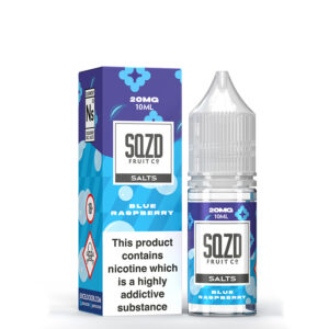 Sqzd Blue Raspberry Nicotine Salt Eliquid door Sqzd Fruit Co.