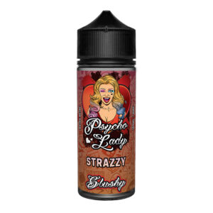 Strazzy 100ml Eliquid Shortfill Botella de Psycho Lady Slushy