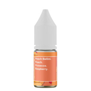 Supergood Cocktail Peach Bellini Salts 10ml Nicotine Salt Eliquid Bottle