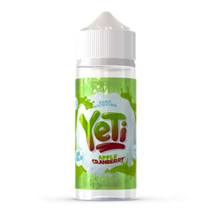 Yeti Apple Cranberry 100ml Eliquid Shortfill Bottle