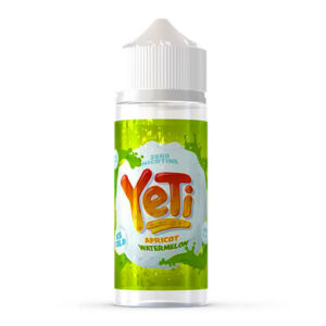 Yeti Apricot Watermelon 100ml Eliquid Shortfill Flaska