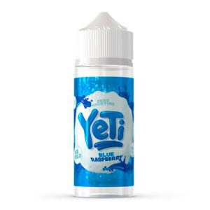 Bouteille Eliquid Shortfill 100 ml Yeti Blue Raspberry